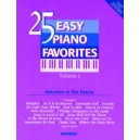 25 Easy Piano Favorites