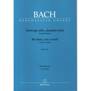 Bach - Be Silent Not a Word