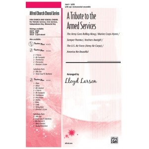 A Tribute to the Armed Services (SATB)