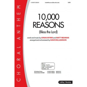 10,000 Reasons (Bless the Lord) (Orch) *POD*