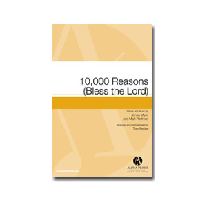 10,000 Reasons (Bless the Lord) (Acc. CD) *POD*
