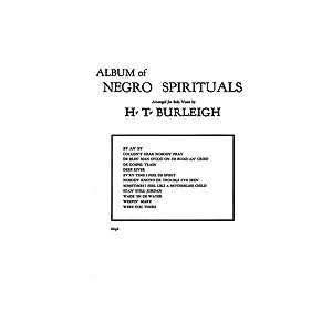 Album of Negro Spirituals (High Voice)