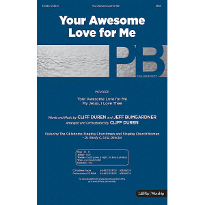 Your Awesome Love for Me (SATB) *POD*