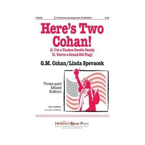 Here's Two Cohan (Acc. CD)