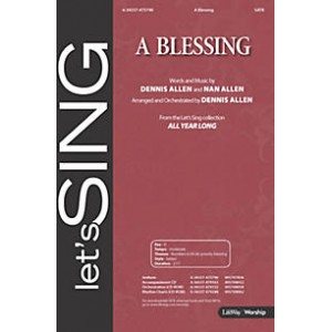A Blessing (SATB) *POD*