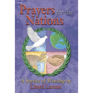 Prayers for the Nations (SATB Choral Book)
