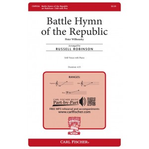 Battle Hymn of the Republic (SAB)