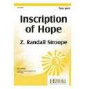 Inscription Of Hope  (2-Pt)