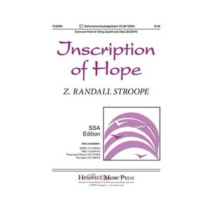 Inscription of Hope  (SSA)