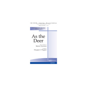 As the Deer (SATB)