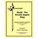 Hark The Herald Angels Sing (Brass Quintets/opt. sextet)