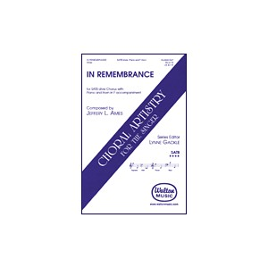 In Remembrance (SATB)