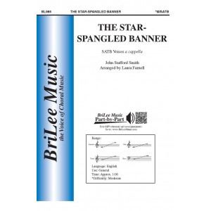 The Star Spangled Banner  (SATB) *POD*