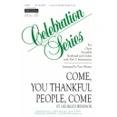 Come You Thankful People Come  (SAB)