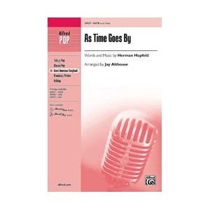 As Time Goes By (SATB)