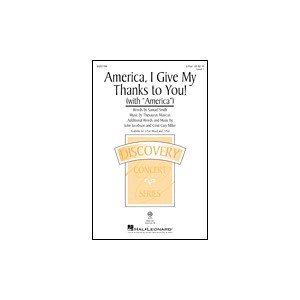America I Give My Thanks to You  (2-Pt)