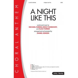 A Night Like This (Accompaniment CD)