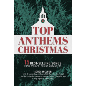 Top Anthems Christmas (Choral Book) SATB
