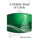 A Holiday Road of Carols  (SAB)