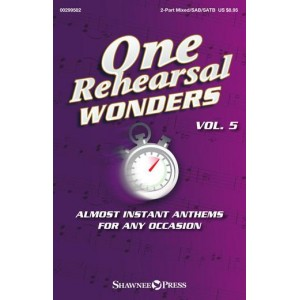 One Rehearsal Wonders Vol. 5 (Choral Book)