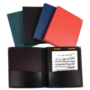 Band and Orchestra Folder (12 x 14 - Black)