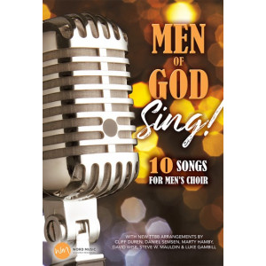 Men of God Sing! (TTBB) Choral Book