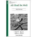 All Shall Be Well  (SATB)