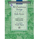 The Mark Hayes Vocal Solo Collection: 10 Christmas Songs for Solo Voice (Medium High Voice w/CD)