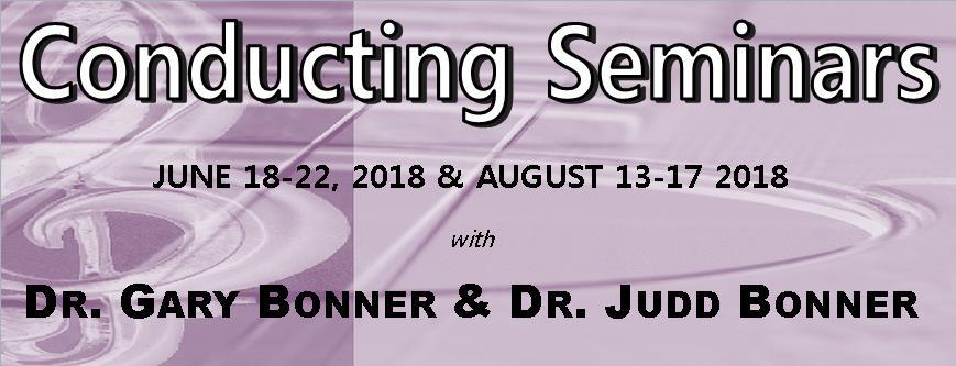 Conducting Seminars