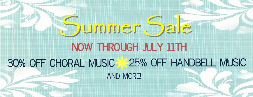 2018 Summer Sale